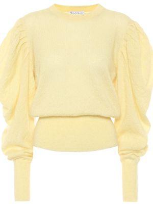 Желтый свитер из мохера Jw Anderson