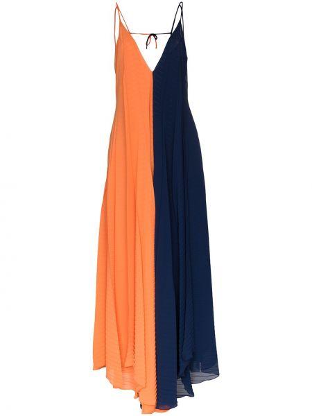 Niebieska sukienka Roland Mouret