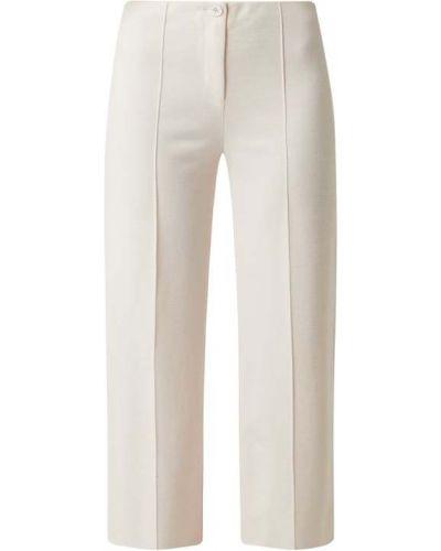 Beżowe spodnie wełniane Marc Cain