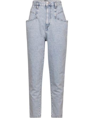 Prosto bawełna niebieski jeansy Isabel Marant