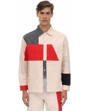 Biała koszula bawełniana do pracy Gr Uniforma X Diesel Red Tag