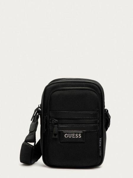 Текстильная сумка через плечо с поясом Guess