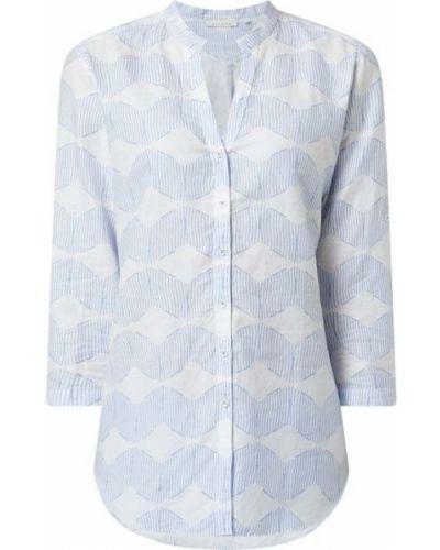 Niebieska bluzka bawełniana Eterna