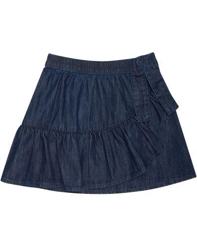 Джинсовая юбка синий Mothercare