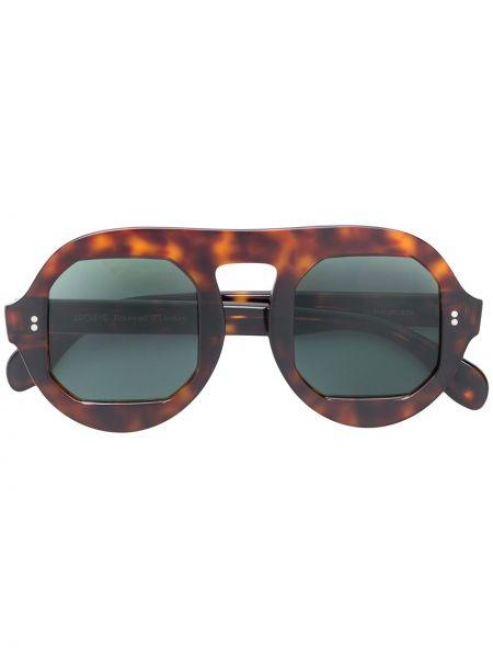 Муслиновые солнцезащитные очки хаки Archive Eyewear