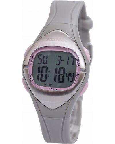 Różowy zegarek sportowy silikon Xonix