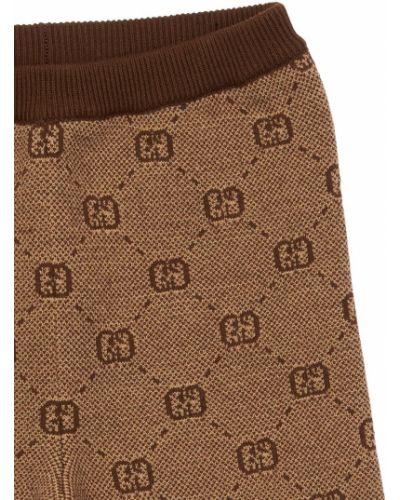 Spodnie wełniane Gucci