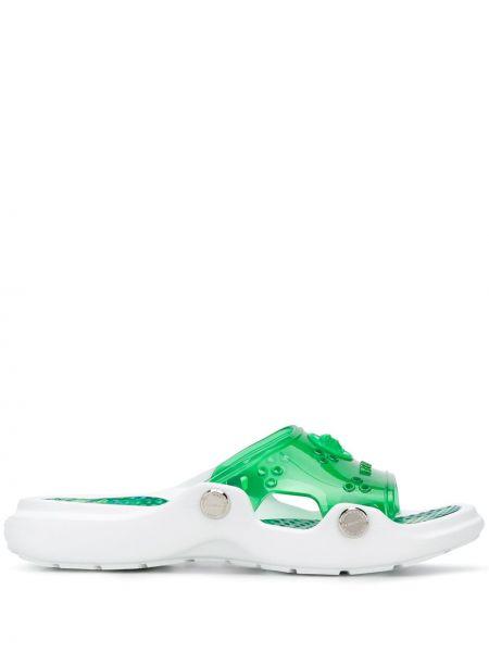 Klapki zielony Versace