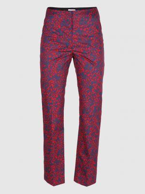 Красные прямые брюки Sonia Rykiel