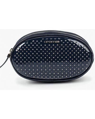 Поясная сумка кожаный лаковая Cromia