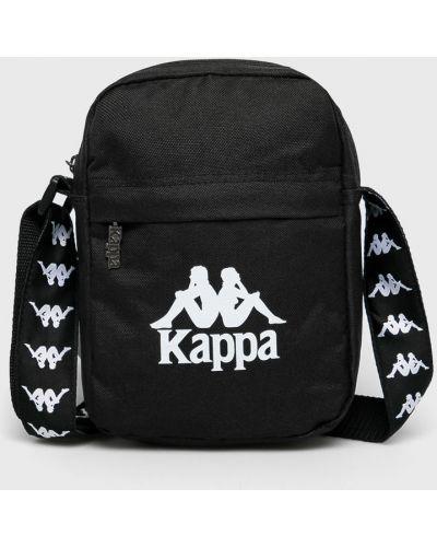 Текстильная сумка через плечо - черная Kappa