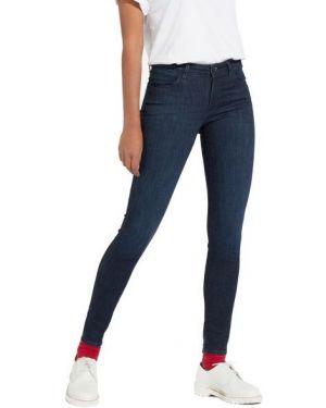Jeansy bawełniane z cekinami Wrangler