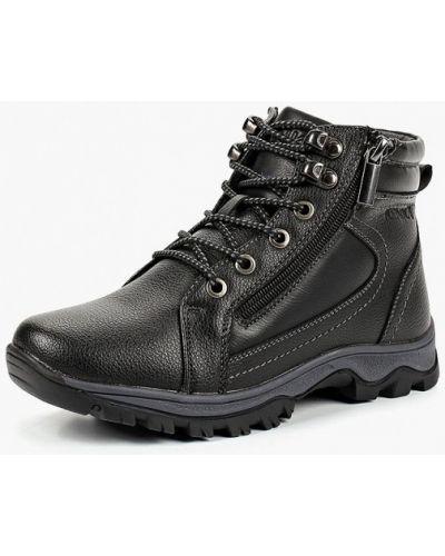 Черные ботинки Kenka
