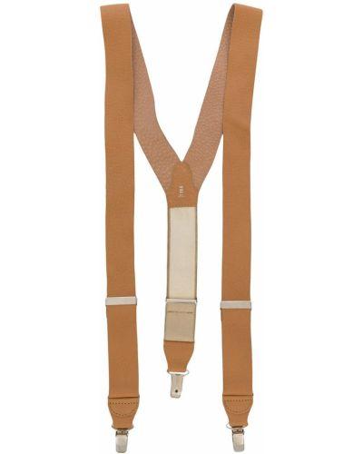 Кожаные подтяжки эластичные на бретелях Gianfranco Ferre Pre-owned
