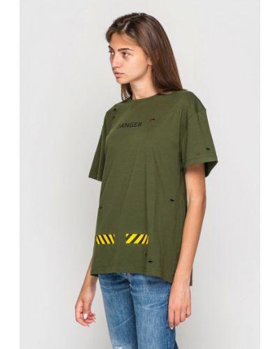 Футбольная футболка хаки Keepstyle