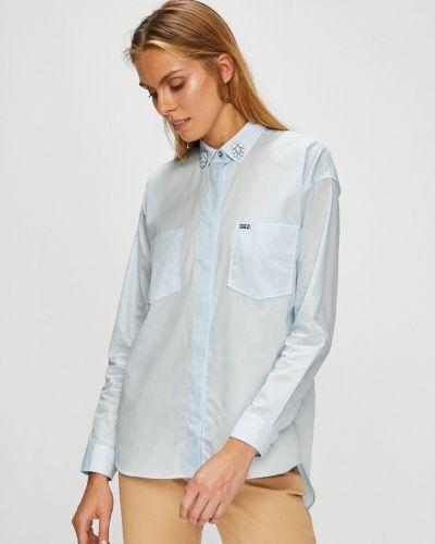 Блузка с длинным рукавом на пуговицах хлопковая U.s. Polo