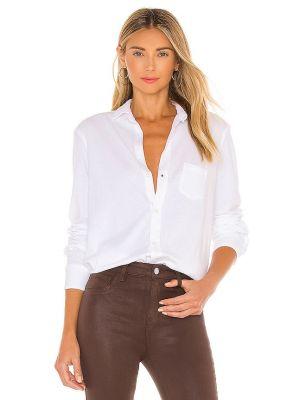 Рубашка с карманами - белая Frank & Eileen