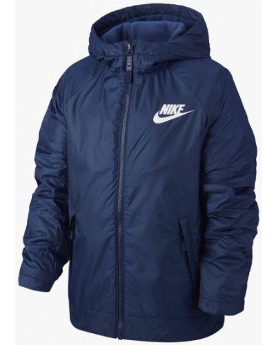 Куртка синий осенний Nike