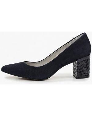 Туфли на каблуке бразильские синий Indiana