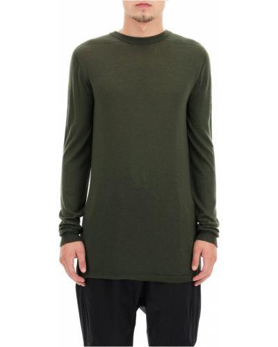 Zielony sweter wełniany Rick Owens