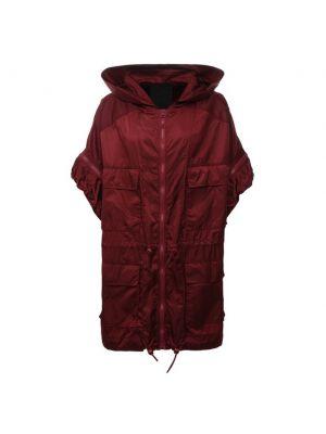 Куртка из полиамида - бордовая Redvalentino
