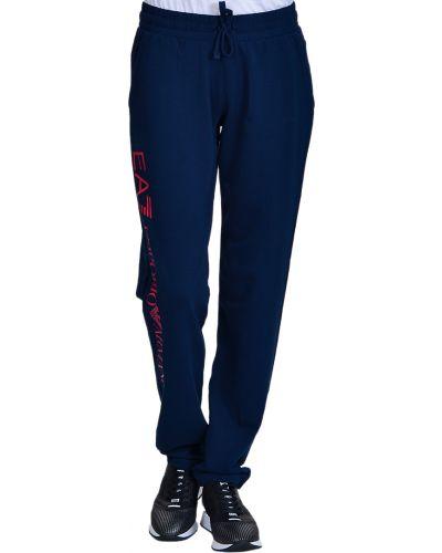 Спортивные брюки синие Ea7 Emporio Armani
