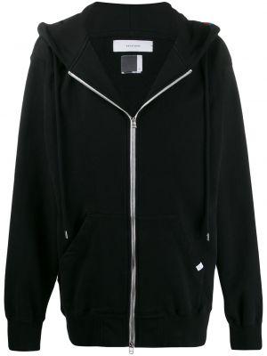 Czarna kurtka z kapturem bawełniana Facetasm