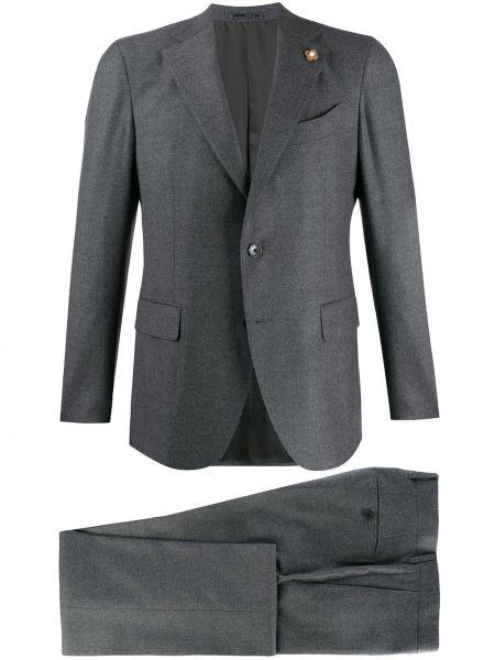 Klasyczny garnitur kostium wełniany Lardini