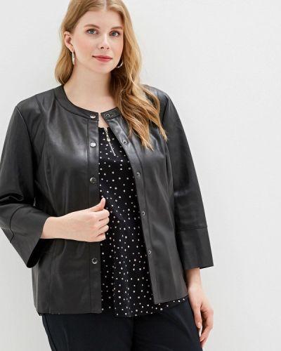 Кожаная куртка - черная Rosa Thea