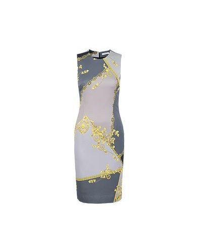 Деловое платье серое Versace Collection