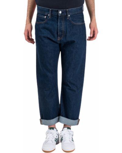 Klasyczne spodnie, niebieski Calvin Klein