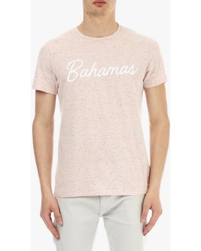Розовая футболка Burton Menswear London