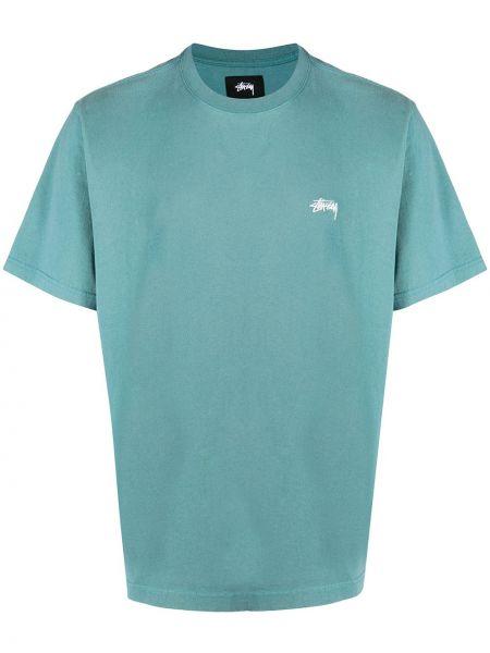 Koszula krótkie z krótkim rękawem z logo prosto Stussy
