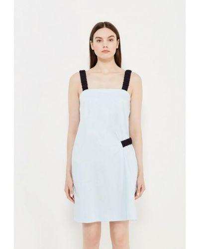 Голубое платье прямое Iceberg