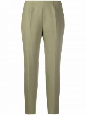 Зеленые прямые брюки Piazza Sempione