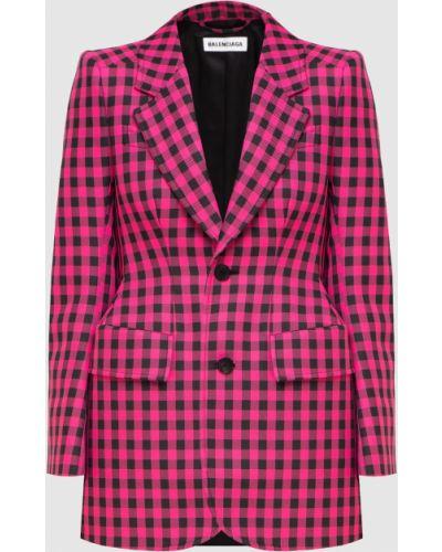 Розовый пиджак Balenciaga