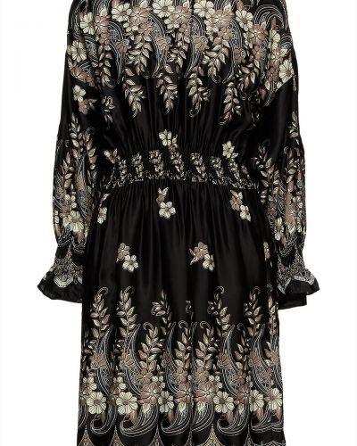 Czarna sukienka z wiskozy Antik Batik