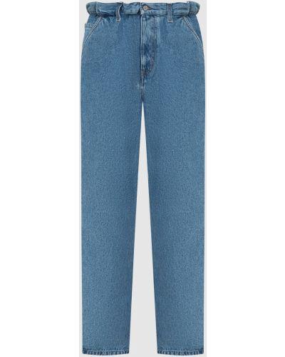 Синие джинсы Miu Miu