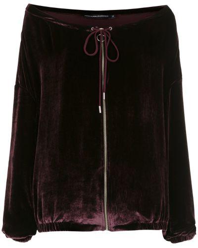 Черная длинная куртка с манжетами Reinaldo Lourenço