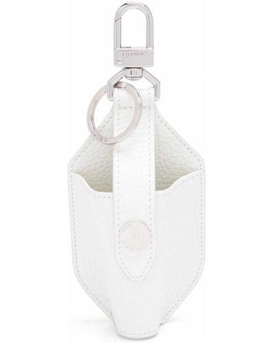 Белая сумка с логотипом Amiri