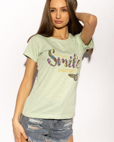 Зеленая футболка Time Of Style
