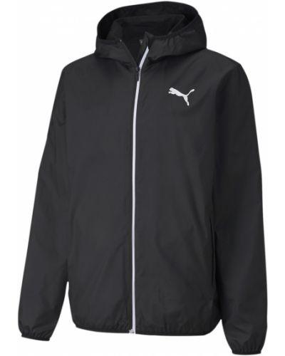 Брендовая черная куртка Puma