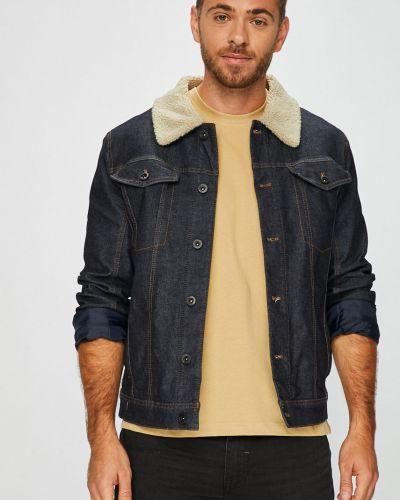 Джинсовая куртка укороченная на пуговицах Camel Active