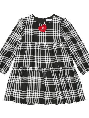 Платье макси длинное - черное Monnalisa