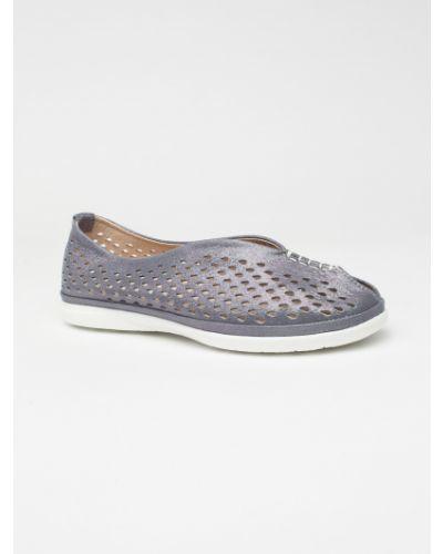 Кожаные туфли синий Vensi