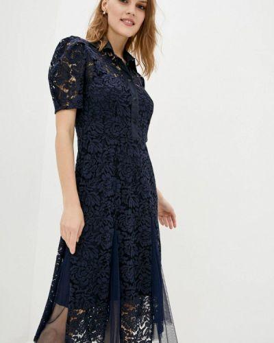 Синее вечернее платье Dolcedonna