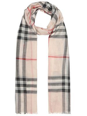 Шелковый шарф - бежевый Burberry