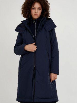 Синяя утепленная куртка Finn Flare