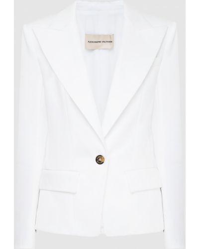 Белый пиджак Alexandre Vauthier
