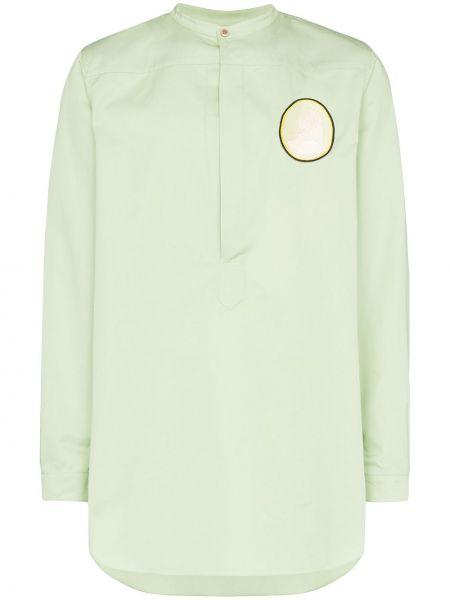 Zielona koszula bawełniana Linder